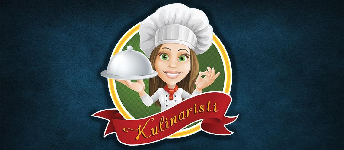 Kulinaristi tarjoiluastian kanssa